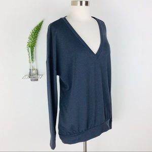Banana Republic Sweaters - Banana Republic Cute Slouchy Gray Sweater Size (L)